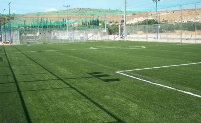 Υπογραφή σύμβασης 95.000 ευρώ για την κατασκευή χλοοτάπητα στο γήπεδο ποδοσφαίρου «Κρούστα» Αγ. Νικολάου