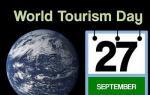 Παγκόσμια Ημέρα Τουρισμού στις 27 Σεπτεμβρίου
