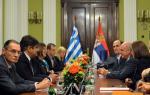 Συναντήσεις του Προέδρου της Βουλής κ. Ευάγγελου Μεϊμαράκη με την Πολιτειακή και πολιτική ηγεσία της Σερβίας
