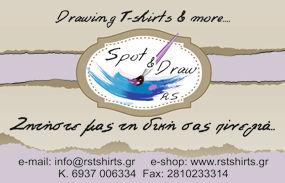 Ζωγραφίζουμε το αγαπημένο σας θέμα σε λευκά tshirts. Διαλέξτε ένα απο τα σχέδια μας ή ζητήστε το δικό σας σχέδιο στέλνοντας ένα mail στο info@rstshirts.gr